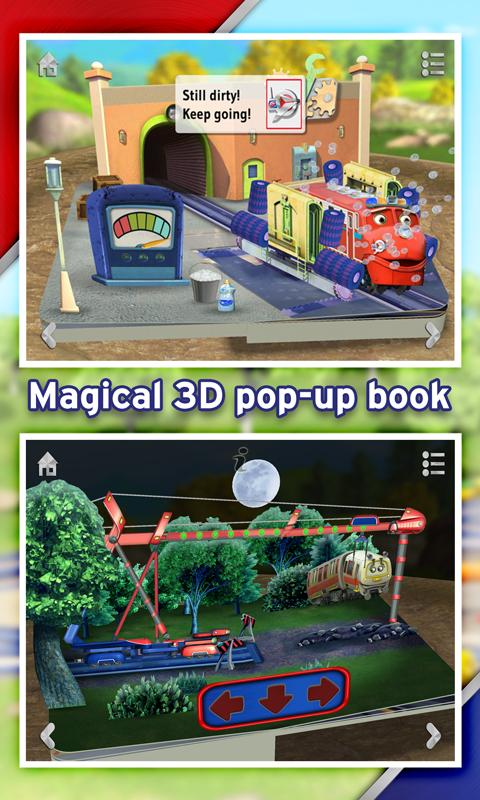 Chuggington Chug Patrol Book: captura de pantalla