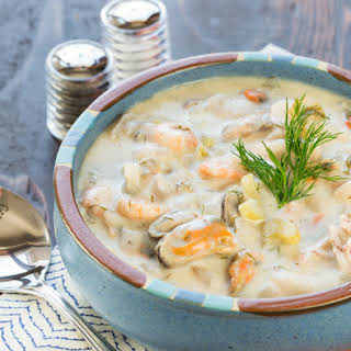 Seafood Stew No Tomatoes Recipes.