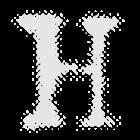 Horror Digital Clock Widget icon