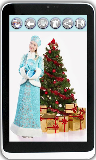 Take a picture with Ded Moroz