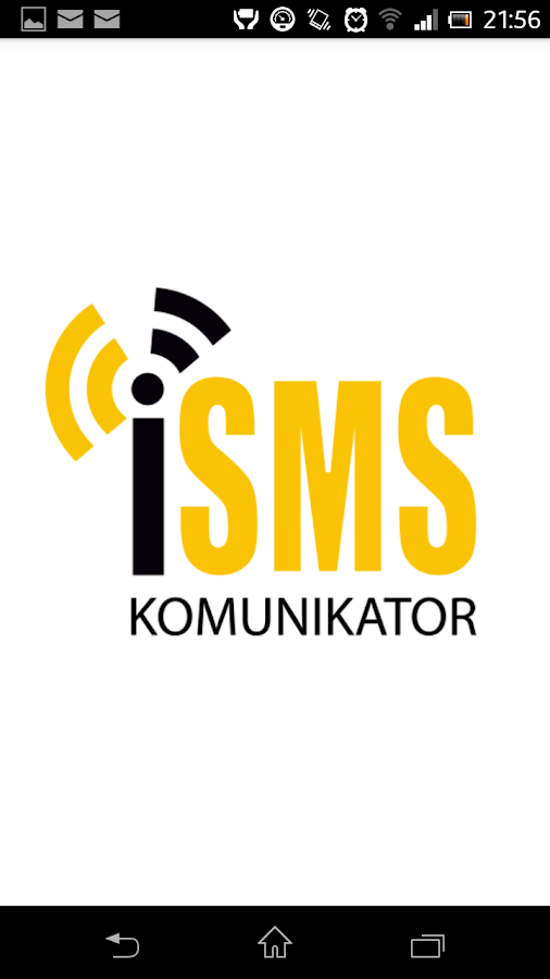 Komunikator iSMS- screenshot