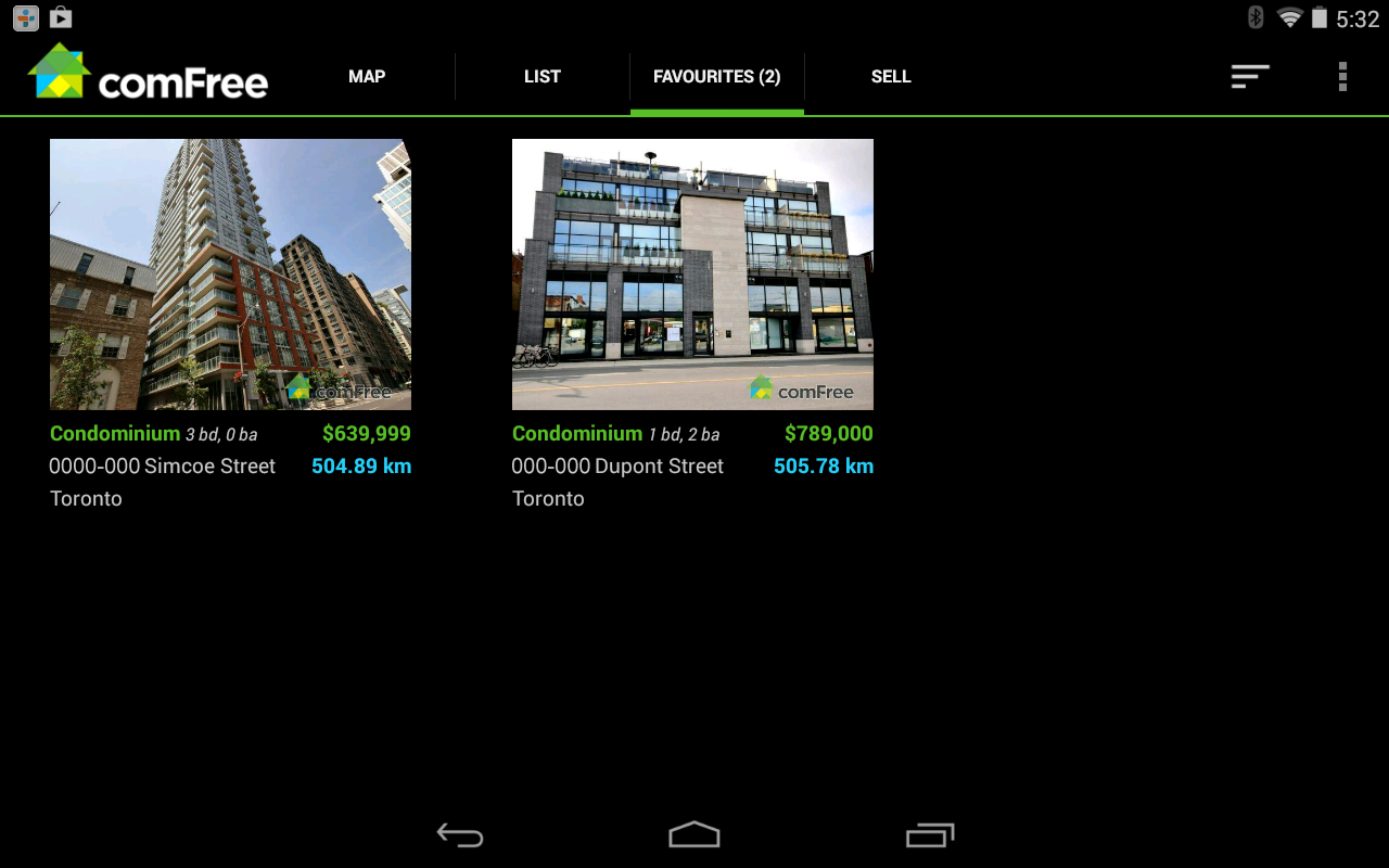 ComFree Mobile- screenshot