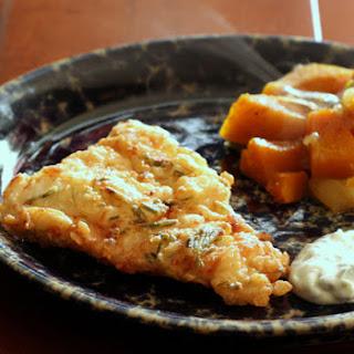Herb Fried Fish Fillets.