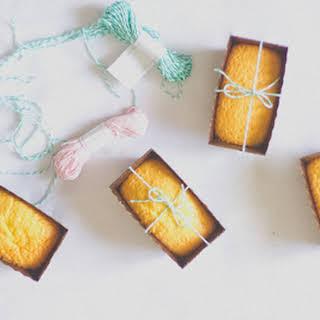 Mini Honey Castella Cakes.