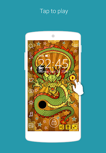 Dragon Pinball Start LockGame