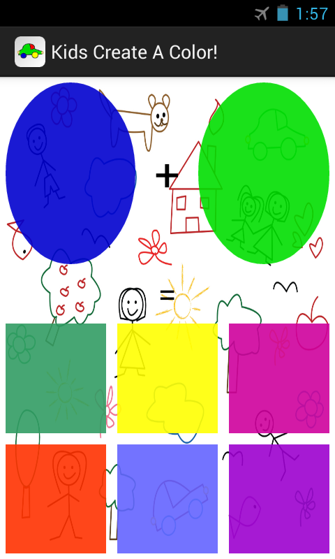 Kids Create A Color! Free! - screenshot