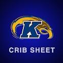 Kent State Crib Sheet logo