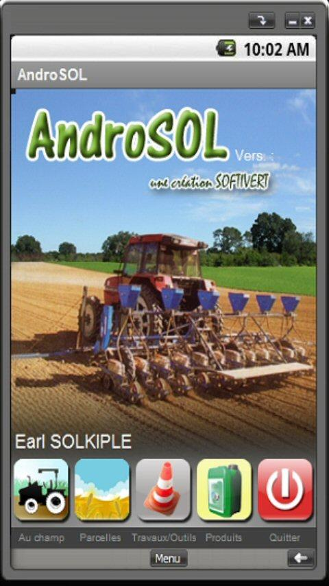 AndroSOL ( field management) - screenshot