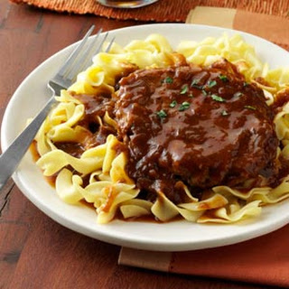 Salisbury Steak with Onion Gravy