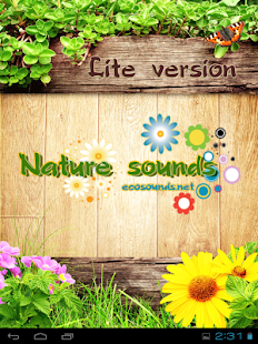 Nature sounds - Ecosounds Lite- screenshot thumbnail