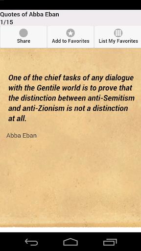 Quotes of Abba Eban