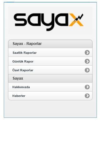 Sayax Enerji Yönetim Sistemi
