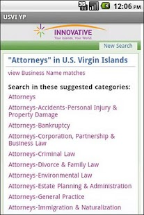 USVI YP - screenshot thumbnail