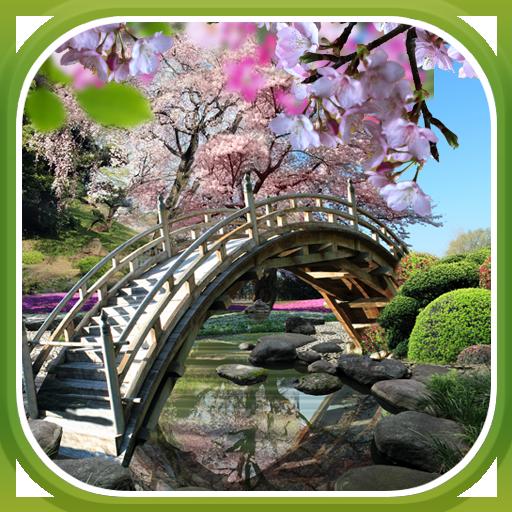 Sakura Garden Live Wallpaper LOGO-APP點子