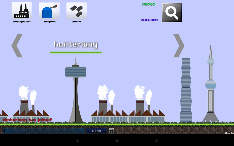 Stronghold2D - Multiplayer War - screenshot
