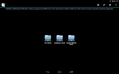 AndSMB (samba client) Screenshot 20