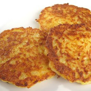 Bavarian Kartoffelpuffer, Reibekuchen, Reiberdatschi - Potato Pancakes