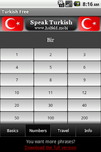 Speak Turkish Free- screenshot thumbnail
