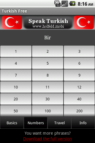 Speak Turkish Free- screenshot