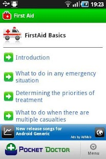 Pocket First Aid Pro - screenshot thumbnail