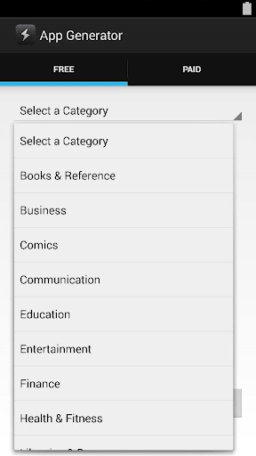 Application Suggester