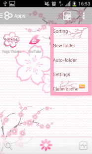 玩免費個人化APP|下載粉紅色的櫻花GO主題 app不用錢|硬是要APP