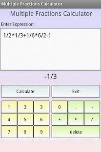 Fractions Math - screenshot thumbnail
