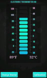 Elektronický Teploměr HD - náhled