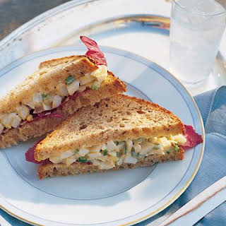 Alexis's Light Egg Salad Sandwich.
