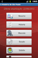 Screenshot of A História do São Paulo