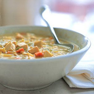 Turkey Mulligatawny Soup.