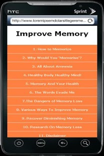 Improve Memory - screenshot thumbnail
