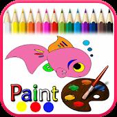 Coloring Sea Animals Kid