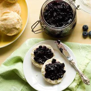 Gluten Free Blueberry Jam.