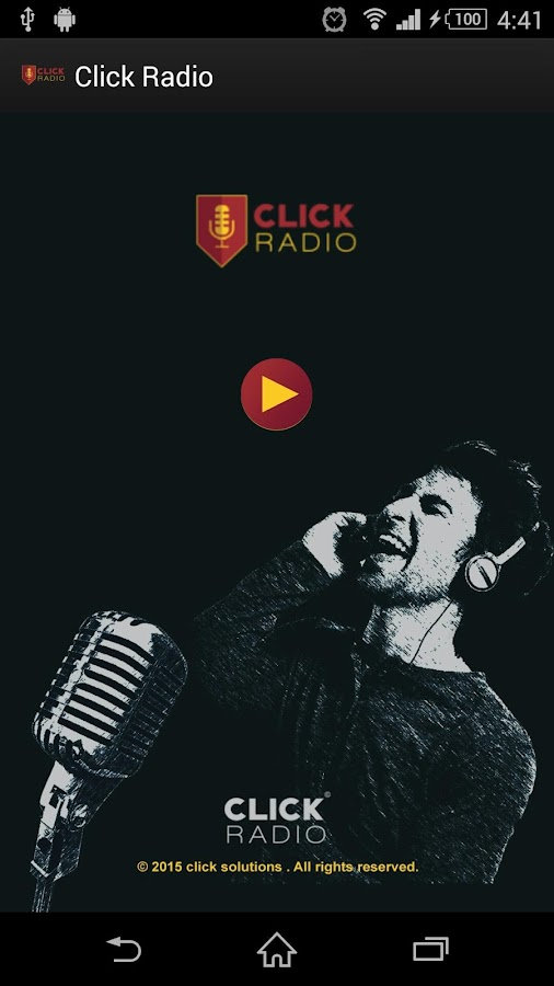 ‫راديوكليك RadioClick‬‎- screenshot