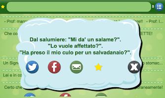Screenshot of Scherzi e Barzellette