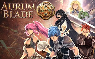 Screenshot of Aurum Blade EX