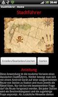Screenshot of City Guide