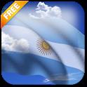 3D Argentina Flag