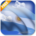 3D Argentina Flag Live Wallpaper icon