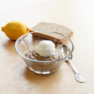 Øllebrød - Danish rye bread porridge.