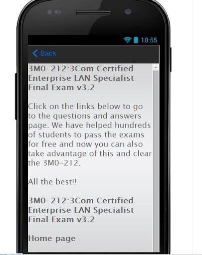 3M0-212 EXAM Preparation