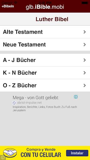 Bible - Luther Bibel - Deutsh