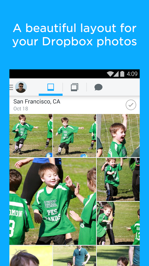 Carousel - Dropbox Photos- screenshot