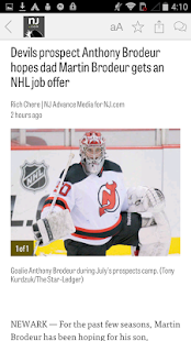 NJ.com: New Jersey Devils News - náhled