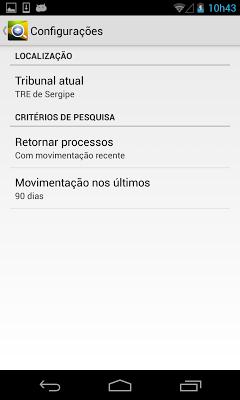 JE Processos - screenshot