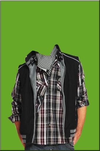 Man Fashion Suit Photo Montage