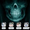 Mystical Skull [SQTheme] ADW logo