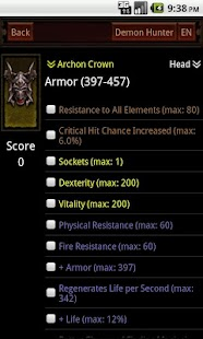 Diablo3 Item Surveyor - screenshot thumbnail