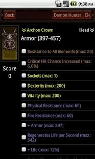 Diablo3 Item Surveyor - screenshot thumbnail
